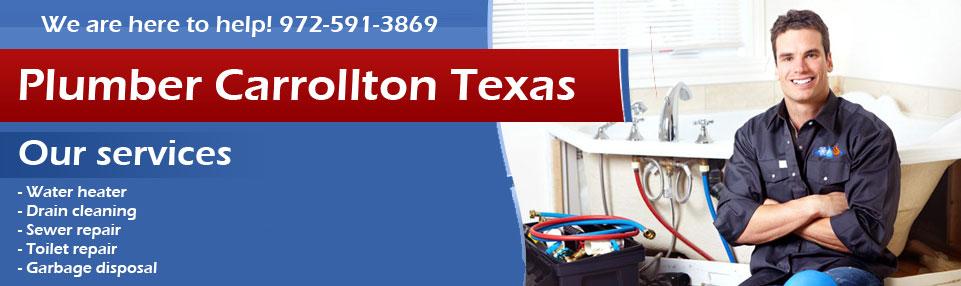 Plumber Carrollton TX Banner