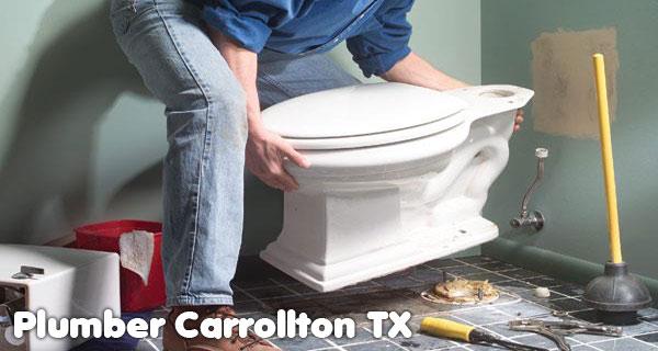 Toilet repair Plumber Carrollton TX
